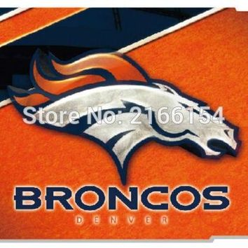 1 PC Denver Bronco phone Cover For iphone 4S 5 5S SE 5C 6 6S Plus For iPod Touch 4 5 6 Back Skin Plastic Hard Cell Mobile Case