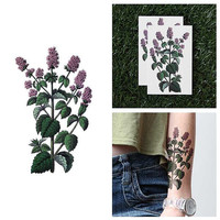 Minty Fresh - Temporary Tattoo (Set of 2)