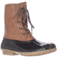 The Orginal Duck Boot Arianna Flannel Lined Boots - Tan/Brown