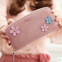 wallets vintage famous brand woman portfolio purse long flower female wallet ladies purse wristlet clutch women walet