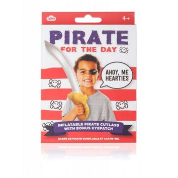 Pirate For The Day Inflatable Sword and Eye Patch