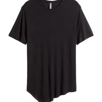 Asymmetric T-shirt - from H&M