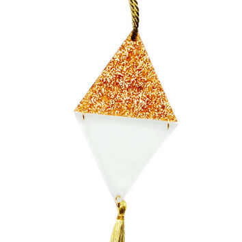 Triangle Tassel Ornament