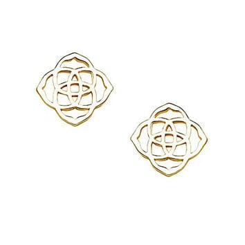 Kendra Scott Dira Stud Earrings In Gold