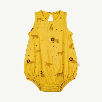 Big Cats Summer Bubble Romper