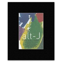 ALT-J - This Is All Yours Matted Mini Poster - 12.7x8.8cm