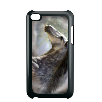 Silver Horse Edited Ipod 4 Case