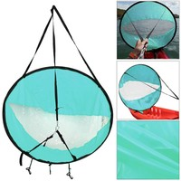 """Lightweight 42"""" Foldable Wind Sail - Perfect for Kayaks, Canoes"""