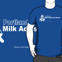 Portlandia, Portland Milk Advisery Board by BUB THE ZOMBIE