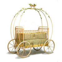 Cinderella Carriage Crib Iron Cribs - LuxuryLamb.Com