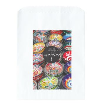 You Are My Bowl of Sunshine! Favor Bags