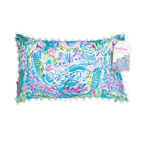 Lilly Pulitzer Medium Pillow- Mermaid