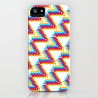 iPhone 5 Case - Spring TeePees - unique iPhone case, art iPhone case, hipster iphone case, iphone 5 case