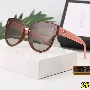 GUCCI Popular Woman Men Fashion Shades Eyeglasses Glasses Sunglasses 2#