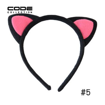 New Take Beauty Makeup Sweet Candy Color Hair Hoop Lovely Cat Ears Girl Kitten Headdress