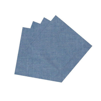 Light Blue Denim Napkin Set of 4