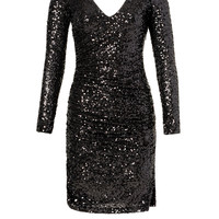 Badgley Mischka Go Out With A Bang Dress