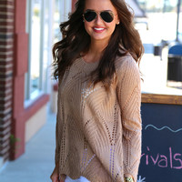 Mocha Lightweight Knit