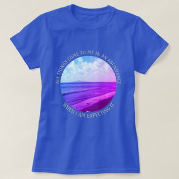 Abundance Photo Quote by Kat Worth T-Shirt