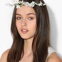 Flower Crown Hair Pin- White One