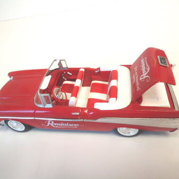1957 Chevy  Convertible Limited Edition Liberty Classics Piggy  Bank Toy  1:25 Scale