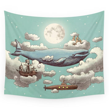 Society6 Ocean Meets Sky Wall Tapestry