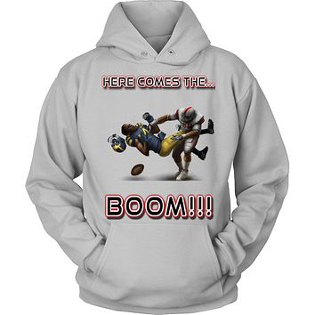 Ohio State Buckeyes vs Michigan Wolverines - Here Comes The Boom Hoodie