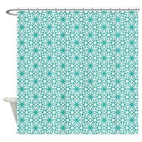 Interlocking Flower By J3ll3y Shower Curtain> All Curtains - Shower and Window> The Afterlife Online Clothing