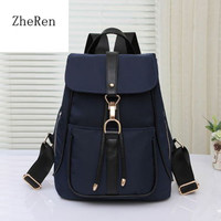 2016 New Sale  Travel Leisure Oxford Cloth Backpack Bag Portable Korean Style for Women and Students