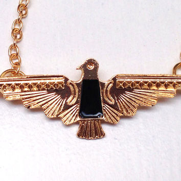 Clara Oswald Mini Aztec Eagle Necklace Replica