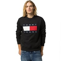 Tommy Jeans Classic Flag Sweatshirt | Tommy Hilfiger USA