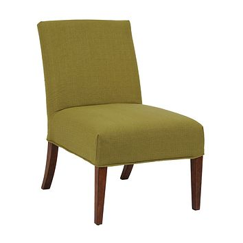 Linon Slipper Chair (COVER ONLY)**