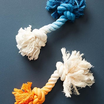 Dip-Dyed Rope Toy