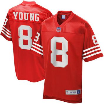 Men's NFL Pro Line San Francisco 49ers Steve Young Retired Player Jersey