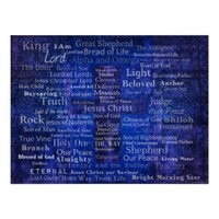 Names of Jesus - Contemporary Christian art