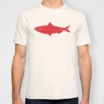 Swedish Fish T-shirt by Chase Kunz