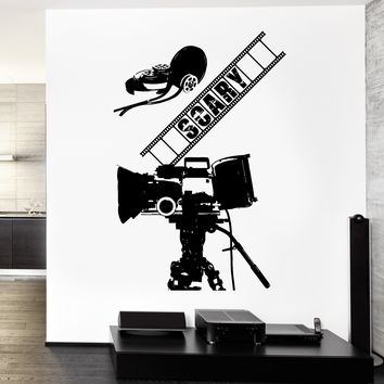 Wall Vinyl Decal Scary Movie Film Picture Hollywood Decor Unique Gift z3769