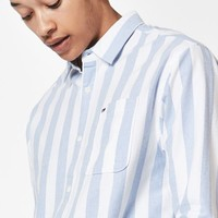 Tommy Hilfiger Relaxed Striped Long Sleeve Button Up Shirt at PacSun.com