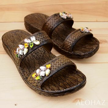 brown jane diva jandals® - pali hawaii sandals