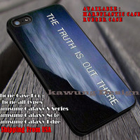 The Truth is Out There Xfiles iPhone 6s 6 6s+ 6plus Cases Samsung Galaxy s5 s6 Edge+ NOTE 5 4 3 #movie #TheXFiles ii