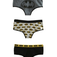 DC Comics Batman Hot Pants 3 Pack