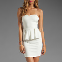 Talulah Spirit of the Wind Peplum Dress in White from REVOLVEclothing.com