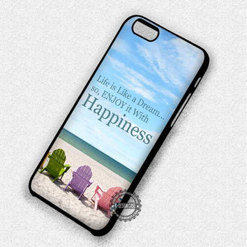 Life Inspiring Quotes - iPhone 7 Plus 6 SE Cases & Covers