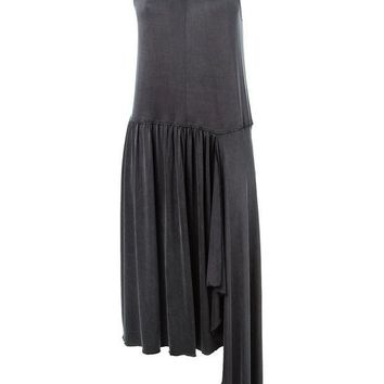 ICIKIN3 MM6 By Maison Martin Margiela asymmetric pleated dress