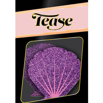 Tease Mermaid Glitter Purple & Pink Seashell O-s