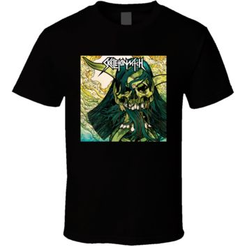 Skeletonwitch Worship the Witch Metal Zone Music  T Shirt
