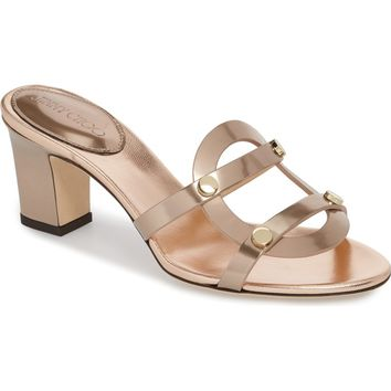 Jimmy Choo Damaris Strappy Slide Sandal (Women) | Nordstrom