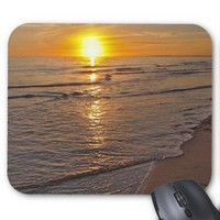 MousePad: Sunset by the Beach Mouse Pad