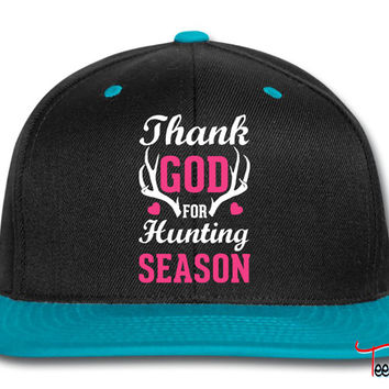 Thank God For Hunting Season Snapback
