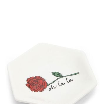 Oh La La Rose Graphic Jewelry Dish